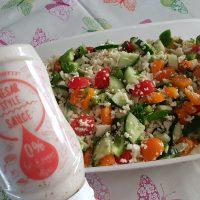 Bloemkool couscous zomerse salade